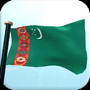 Turkmenistan Flag 3D Free