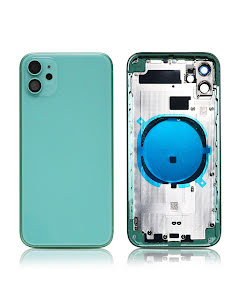 iPhone 11 Back Housing without logo High Quality Green