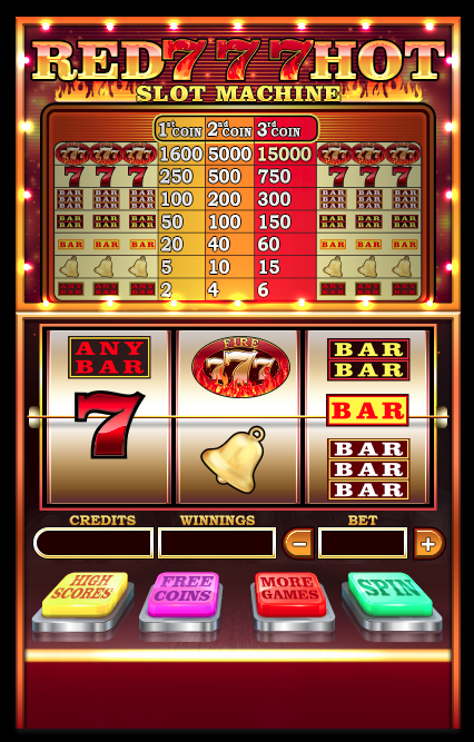 Red hot sevens slots free