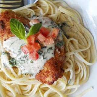 Chicken in a Basil Cream Sauce