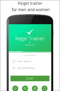 Kegel Trainer - Exercises- screenshot thumbnail