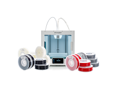 Ultimaker S3 Dual Extrusion 3D Printer Engineering Bundle - with Extended Enhanced Service Plan (3 Years of Warranty Protection)
