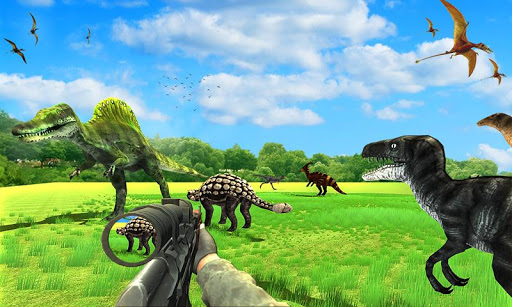 Dinosaur Hunter Free Wild Jungle Animals Safari  screenshots 10