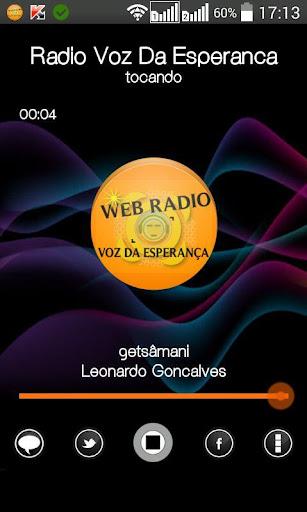 Web Radio Voz Da Esperança III