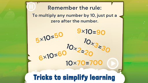 Engaging Multiplication Tables - Times Tables Game 1.0.16 screenshots 1