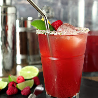 Raspberry Iced Tea Margarita.