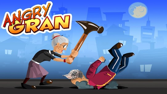 Angry Gran Best Free Game Mod Apk (Unlimited Money) 1