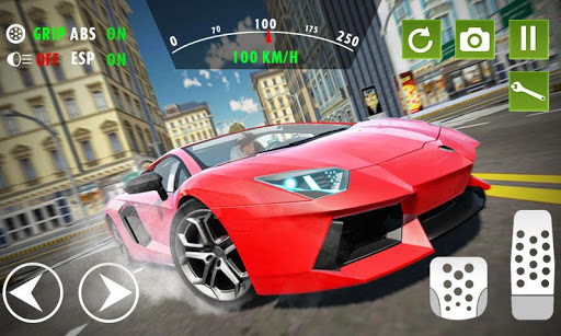 Extreme Car Driving & Racing 2019  captures d'u00e9cran 1