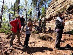 Photo: Obersteinbach, rocher d'escalades Wachtfels