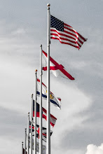 Photo: Flags at the Renaissance Hotel.