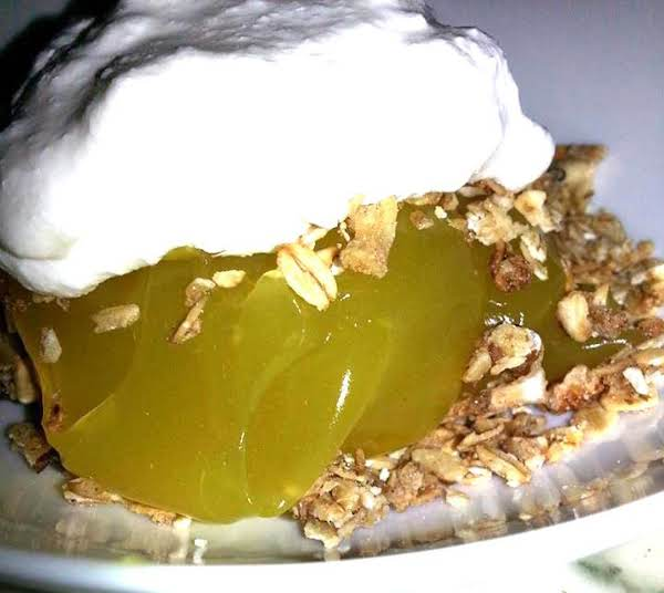 Inside Out Lemon Granola Pie (no Baking) Recipe