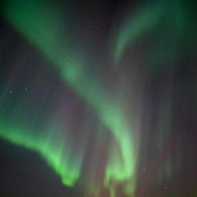 Aurora Borealis by Yvonne Reinholdtsen - Landscapes Cloud Formations