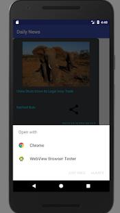 News App-Daily News - náhled