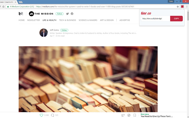 tinr.co | URL Shortener
