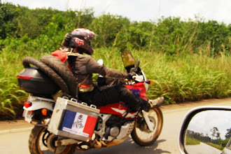 Photo: Motorways are always boring for motorcyclists