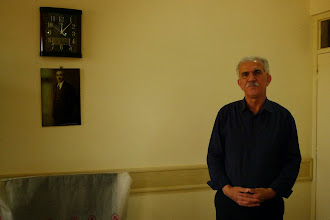 """Photo: Sidqî Salah, one of the directors of the """"Binkey Jin"""" institute which aim is to create the Kurdish archive of documents, pictures and newspapers, Suleymaniya South Kurdistan (Iraq) 2014"""
