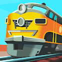 Idle Trains Railway Tycoon icon