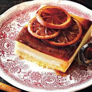 Orange and Cinnamon cake.