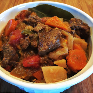 Old Fashioned Slow Cooker Stew.