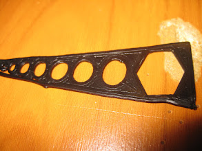 Photo: backside of the part, its solid i think, and as i said, my fault that its crocked cuz i banged on it..
