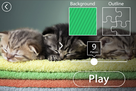 Kittens Jigsaw Puzzle Free Puzzle Games for Kids- screenshot thumbnail