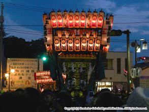 Photo: 【平成23年(2011) 本宮】  日が暮れ、例年以上の来場でごった返す駅前通りを進む。