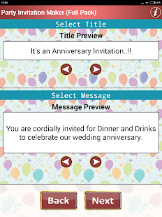 Make party invitation cards android apps on google play make party invitation cards screenshot thumbnail stopboris Gallery