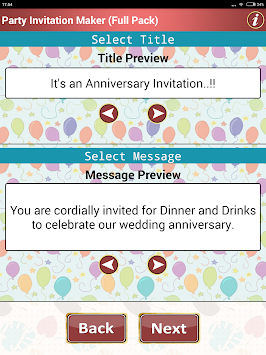 Download make party invitation cards apk latest version app for make party invitation cards poster stopboris