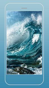 Úžasný Oceán Živé Tapety - náhled