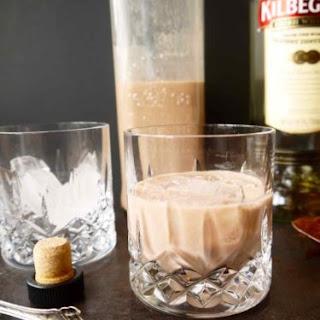 Homemade Clean Irish Cream Liqueur.