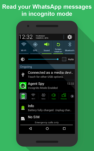 Agent Spy -No blue ticks, No last seen, Ghost Mode 1.51 screenshots 3
