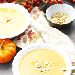 Vegetarian Autumn Squash Soup