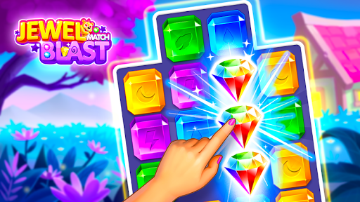 Jewel Match Blast - Classic Puzzle Games 2019 screenshots 7