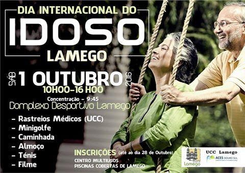 Dia Internacional do Idoso - Lamego - 1 de outubro