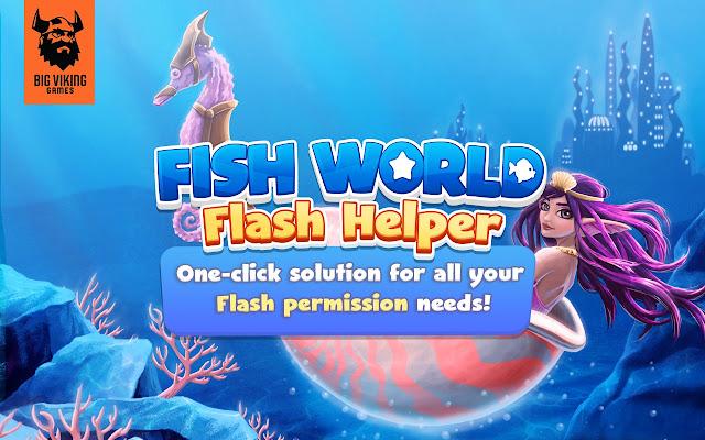 Fish World Flash Helper