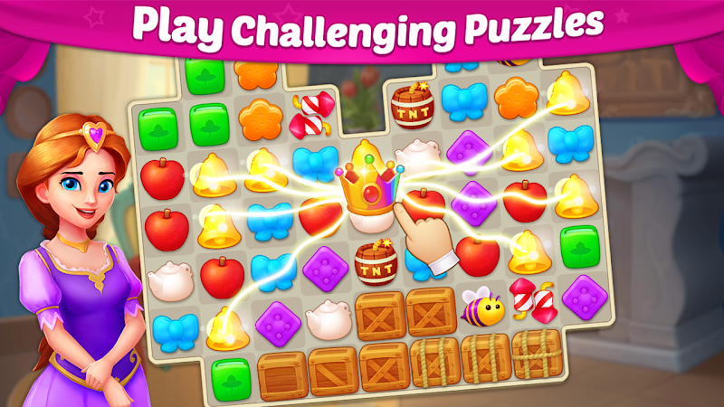 Castle Story: Puzzle & Choice Screenshot 3