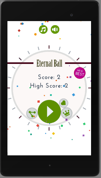 Eternal Ball- screenshot