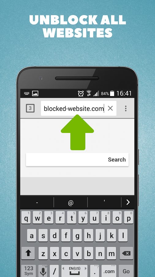 Unblock Sites - Free Proxy Browser- screenshot