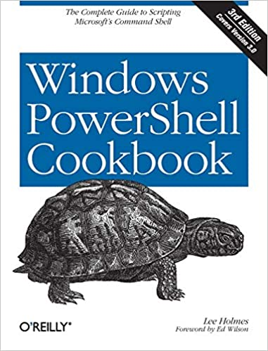 Windows PowerShell Cookbook book cover