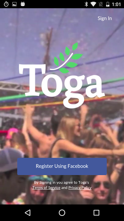 Toga - Join the Party- screenshot