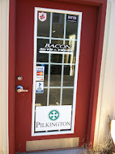 Photo: Bacon Auto & Truck in Caribou, ME proudly displaying their BBB Accreditation