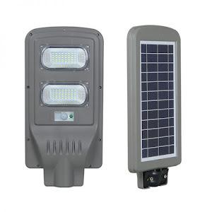 Lampa stradala 60W cu panou solar, acumulator