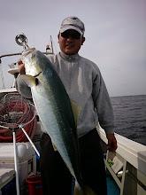 Photo: ヤズでした! ・・・魚は優しくあつかってね! 何か触るたびに「バキバキ」いってるんですが。