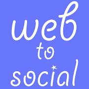 web to social