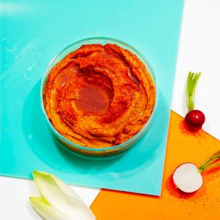 Charred Carrot Hummus