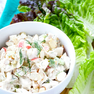 Chicken Salad with Apples and Almonds