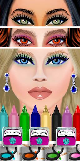 High Fashion Clique - Dress up & Makeup Game 0.7 screenshots 8