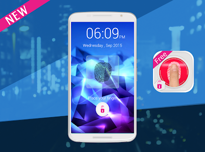 Lastest FingerPrint Screen Lock Prank APK for Android