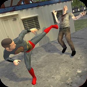 Superhero vs Zombie