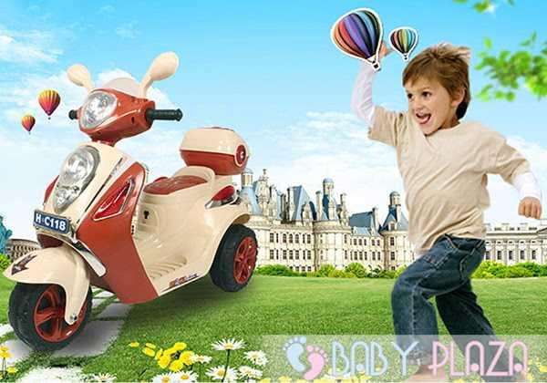 Xe máy điện trẻ em C118